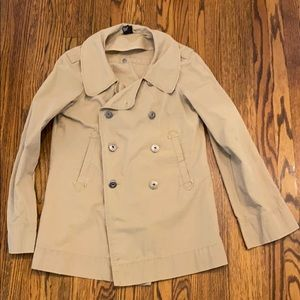Diesel Cotton Pea/Trench Jacket